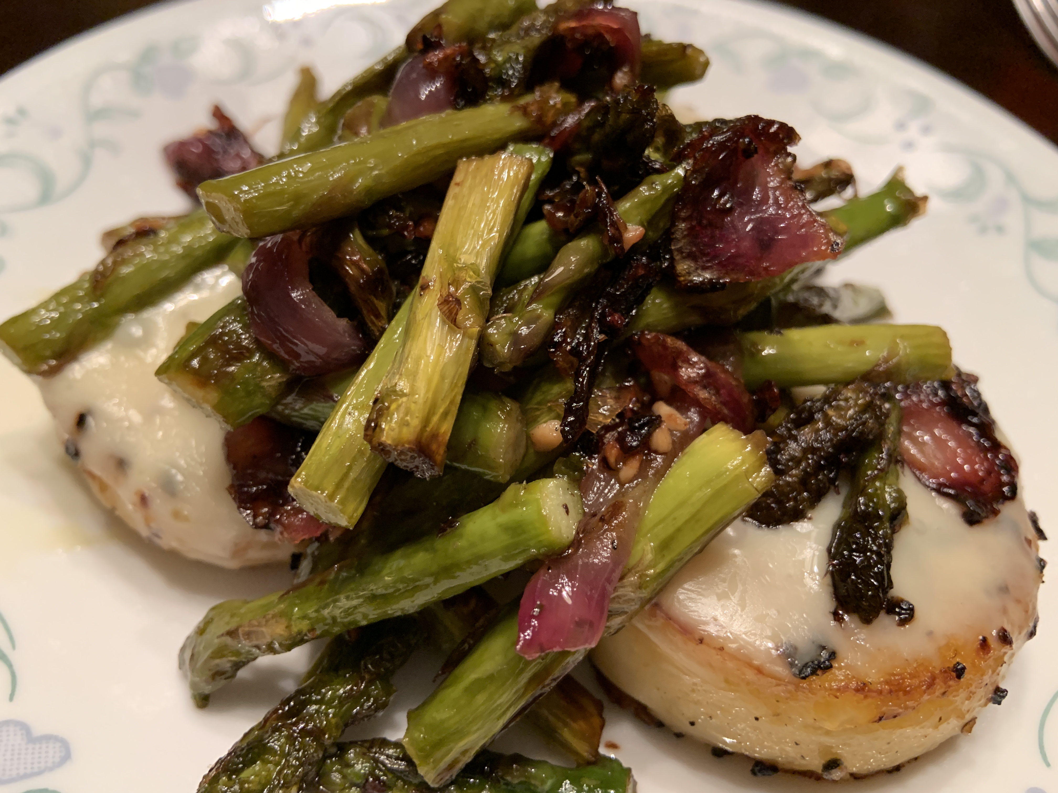 asparagus-polenta